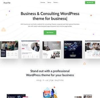 Avante Business Consulting WordPress Theme Landing Page – Just another Avante Business Consulting WordPress Sites site